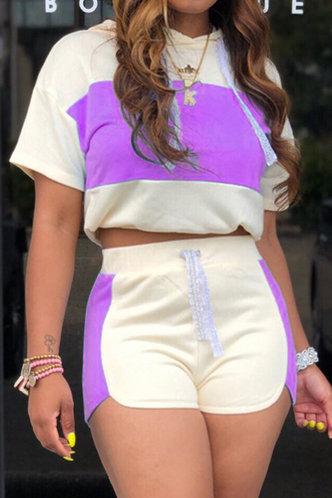 back_Griselda Karlan Purple And Beige Set