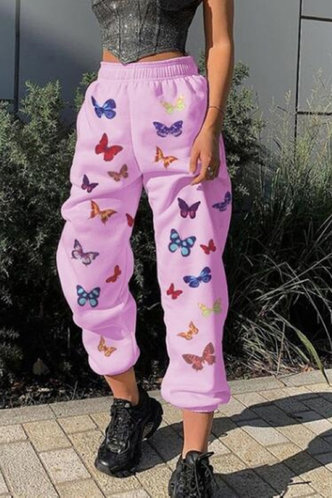 front_Sybil Eartha Pink Joggers