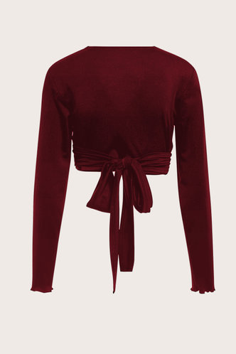 back_Bridget Terry Burgundy Top