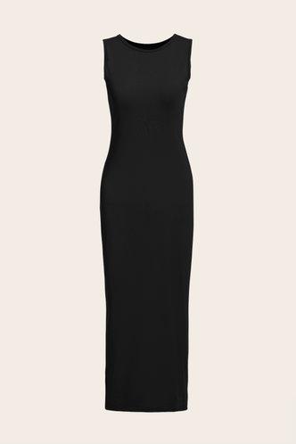 back_Jacquetta Eleanore Black Bodycon Tank Dress