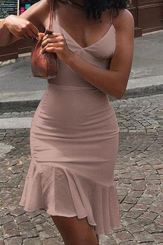 back_Buena Ella Baby Pink Flounce Hem Slip Dress