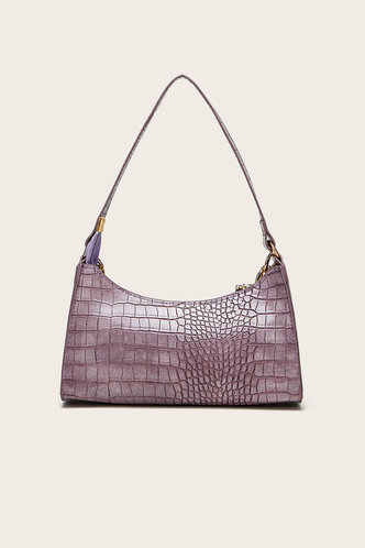 back_Claire Edith Purple Shoulder Bag