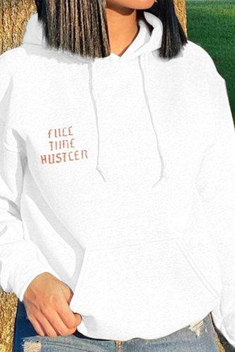 back_Jean Flugil White Sweatshirt & Hoody