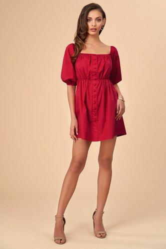 front_Hot {Color} Mini Dress