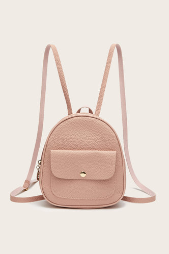 front_Andrea Emily Pink Bagpack