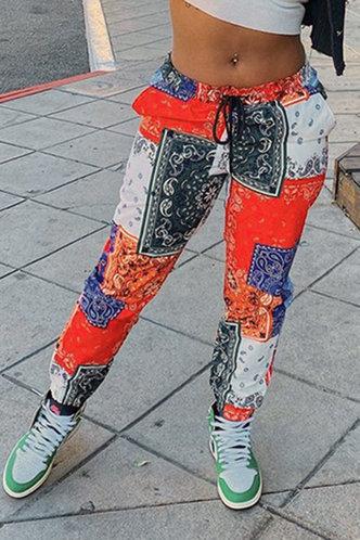 back_Ally Eleanore Paisley Print Pants