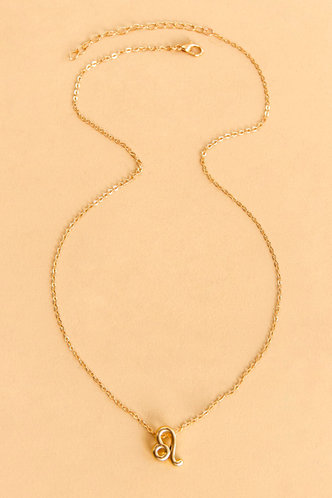back_Frances Loghej Gold Constellation Letter Charm Necklace