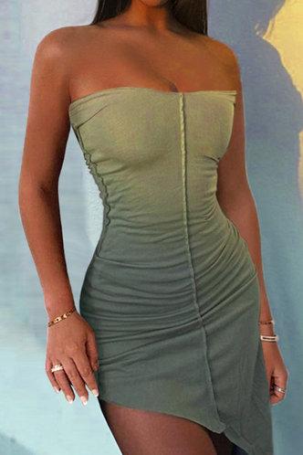 front_Dorsey Elva Sage Green Dress
