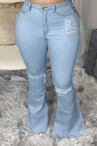 front_Blanch Elsie Wash Light Blue Ripped Jeans