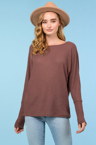 front_So Comfy {color} Round Neck Tee