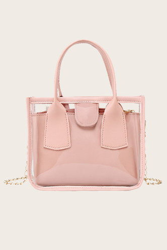 front_Esther Emily Baby Pink Satchel