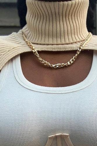 back_Zenia Esther Beige Shrug Sweater