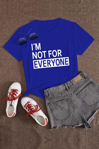 back_Amanda Erica Royal Blue Tee