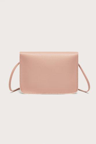 back_Ann Enid Pink And White Crossbody Bag
