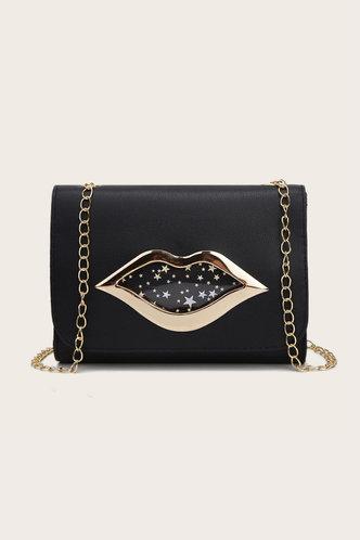front_Thea Elva Black Crossbody Bag