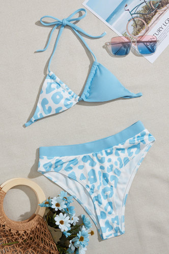 back_Marjorie Elaine Blue Leopard Print Bikini