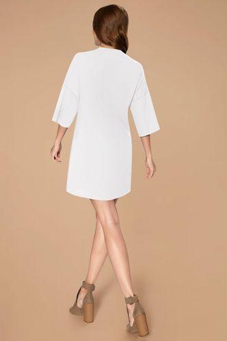 back_Liana White T shirt Dress