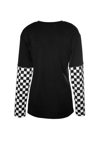 back_First Place Black Print Tee