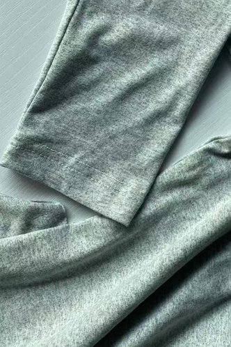 back_Sexy Plain Stand Collar Light Grey Jumpsuit