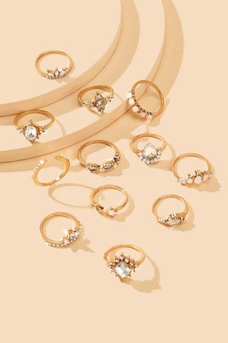 back_Starr Elizabeth Gold Rhinestone Detail Ring 12pcs