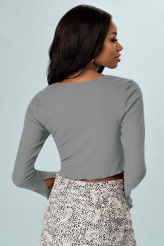 back_Reasons {Color} Long Sleeve Top