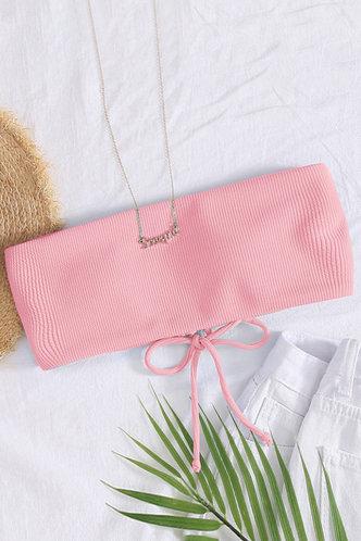 front_Annie Eden Baby Pink Bikini Top