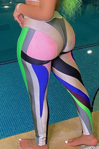 back_Rowena Erin Colorblock Activewear Bottoms