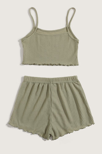 back_Charis Eleanore Olive Green Set