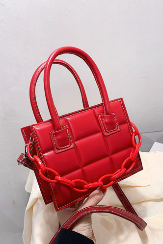 front_Clementina Esther Red Satchel