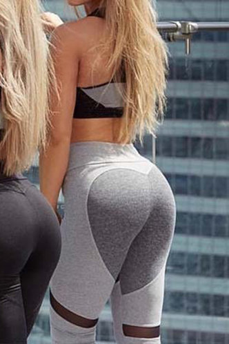 back_Angell Eden Grey Activewear Bottom