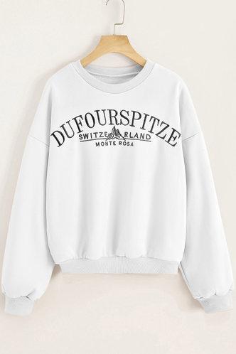 front_Zona White Sweatshirt