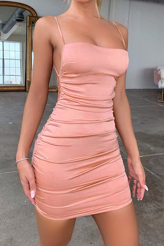 front_Suzan Pink Dress