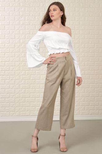 back_Lush Garden White Long Sleeve Top