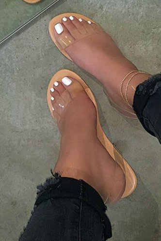 back_Zandra Eunice Khaki Slide Sandals