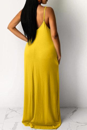 back_Jean Elva Yellow Dress