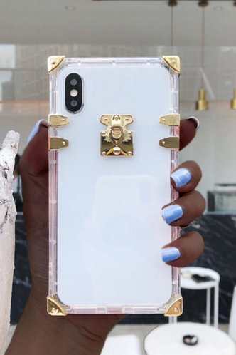 front_See-through Gold Cases