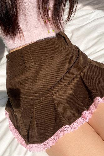 back_Ingeborg Eileen Brown Skirt