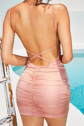 back_Suzan Pink Dress