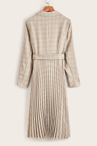 back_Kyushu Beige Dress
