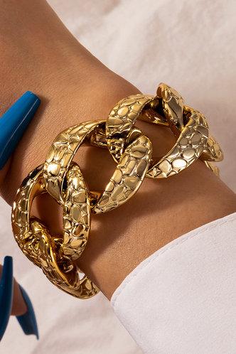 front_Amity Elma Gold Chain Bracelet