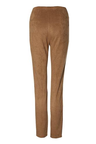 back_So Suede Brown Leggings