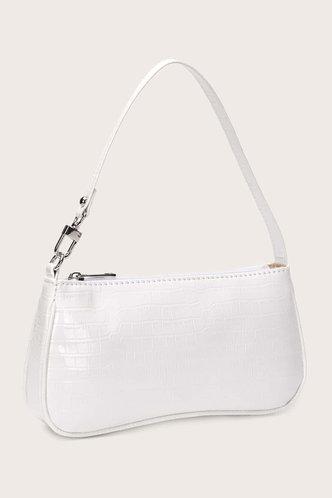 back_Theodora Erica White Shoulder Bag