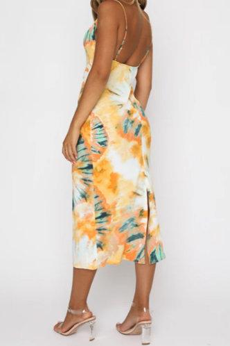 back_Gemma Hhorum Yellow Tie Dye Cami Dress