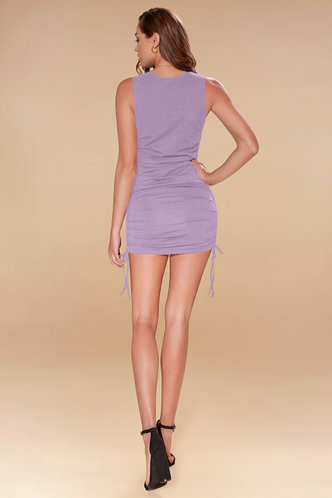 back_All Night {Color} Mini Dress