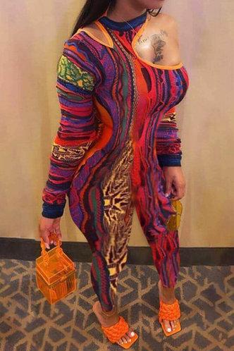 front_Karol Eve Multicolor Jumpsuit
