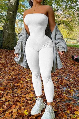 front_Gay Eden White Jumpsuit